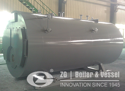 Gas Fired 3 Ton Steam Boiler in Indonesia