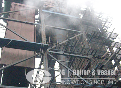 CFB Power Plant Boiler for India Paper Mill