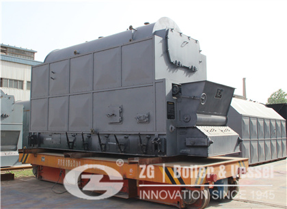 Korea 4 Ton Coal Fired Chain Grate Steam Boiler