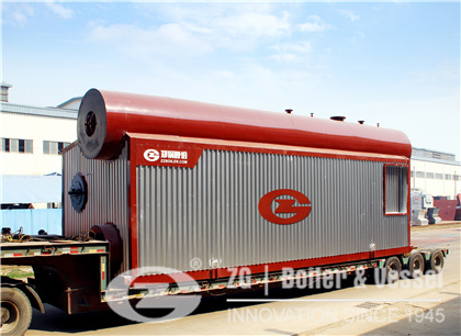25 Ton Gas Fired Hot Water Boiler for Heating