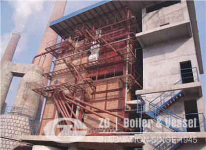 15 Ton CFB Steam Boiler Project in China
