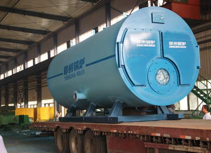 gas boiler exported to Turkey